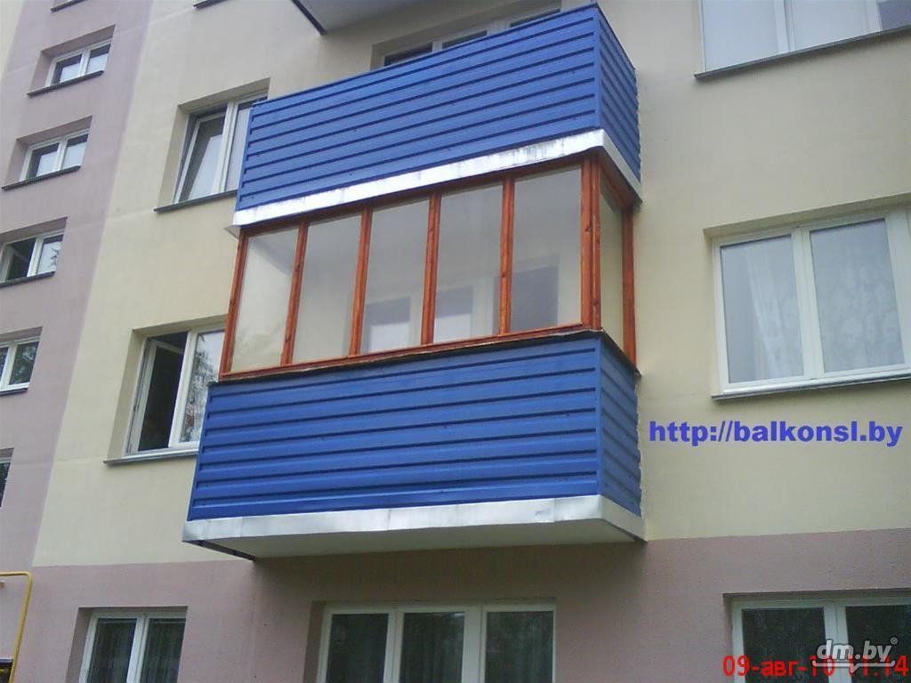 Балконные рамы из дерева / служба снабжения.