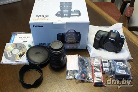 Canon EOS 5D Mark III DSLR камера с EF 24-105 mm, Минск,  1 350 $