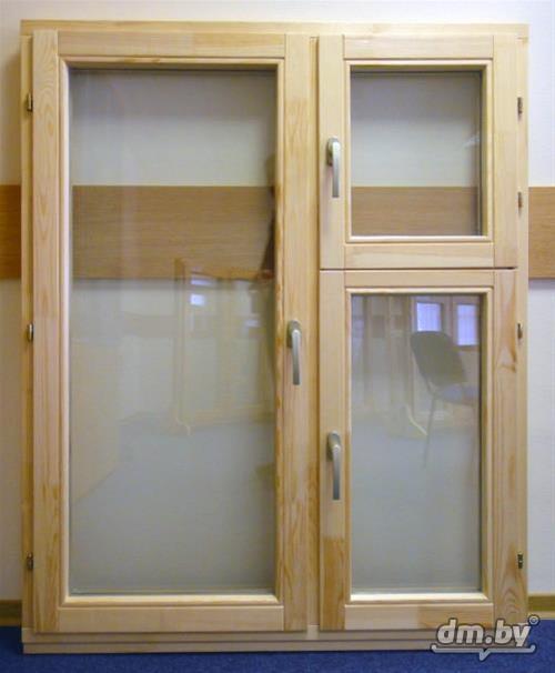 Окна деревянные для дачи