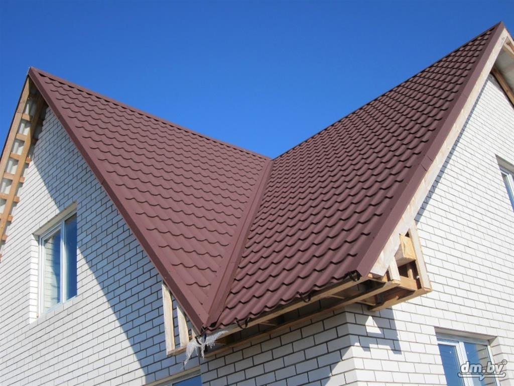 смотреть фото сложных крыш из металлочерепицы пусть говорят уже