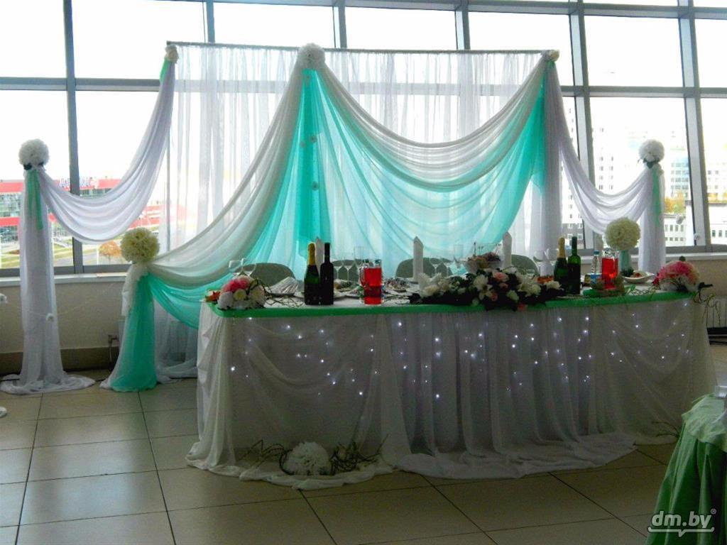 оформление свадебного зала минск: