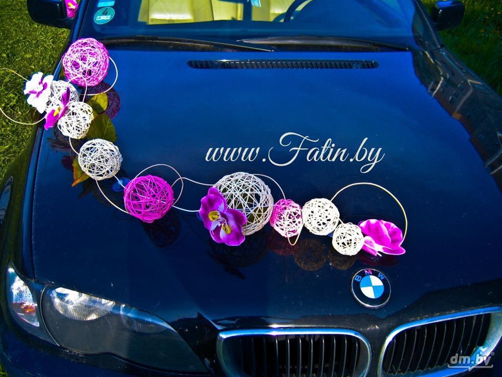 Как украсить своими руками свадебное авто 68