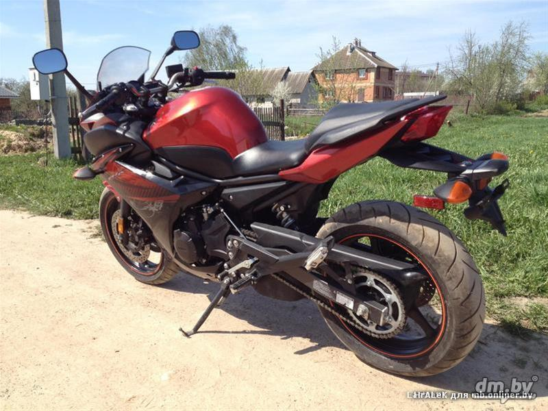 Мотоцикл ямаха