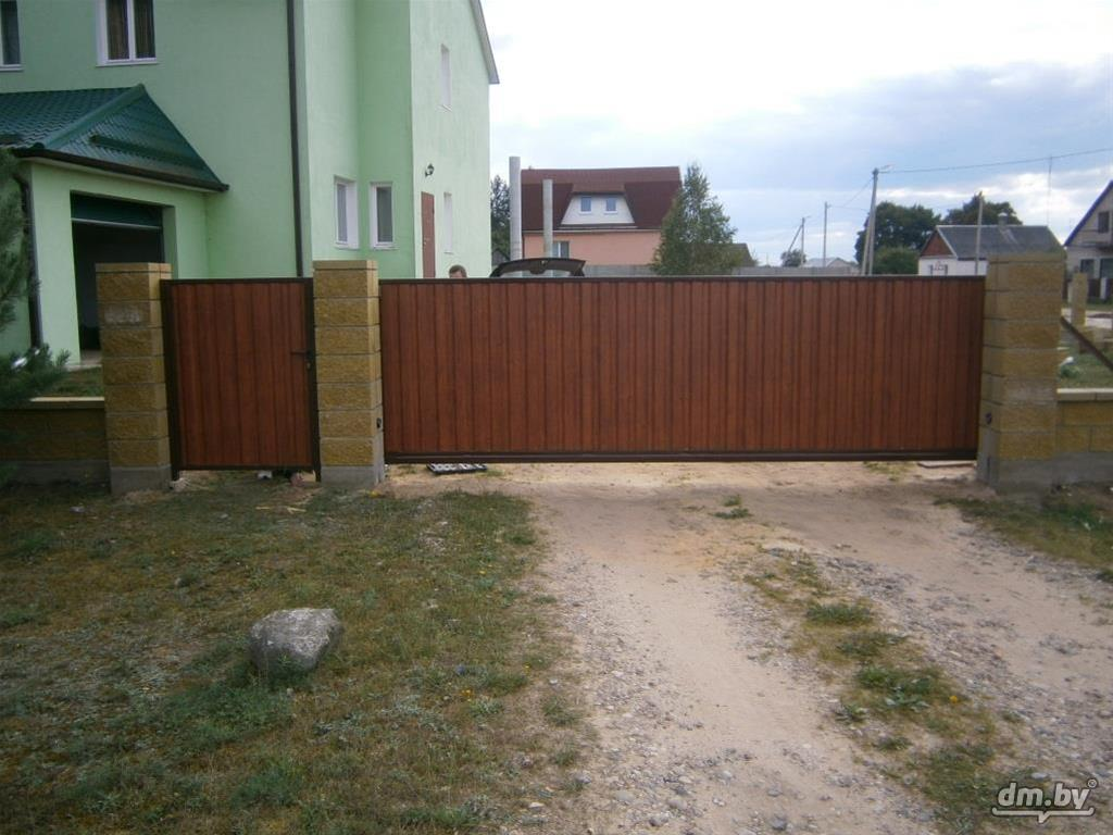 Ворота откатные вом 30 30 распашные ворота 4 м купить в можайске