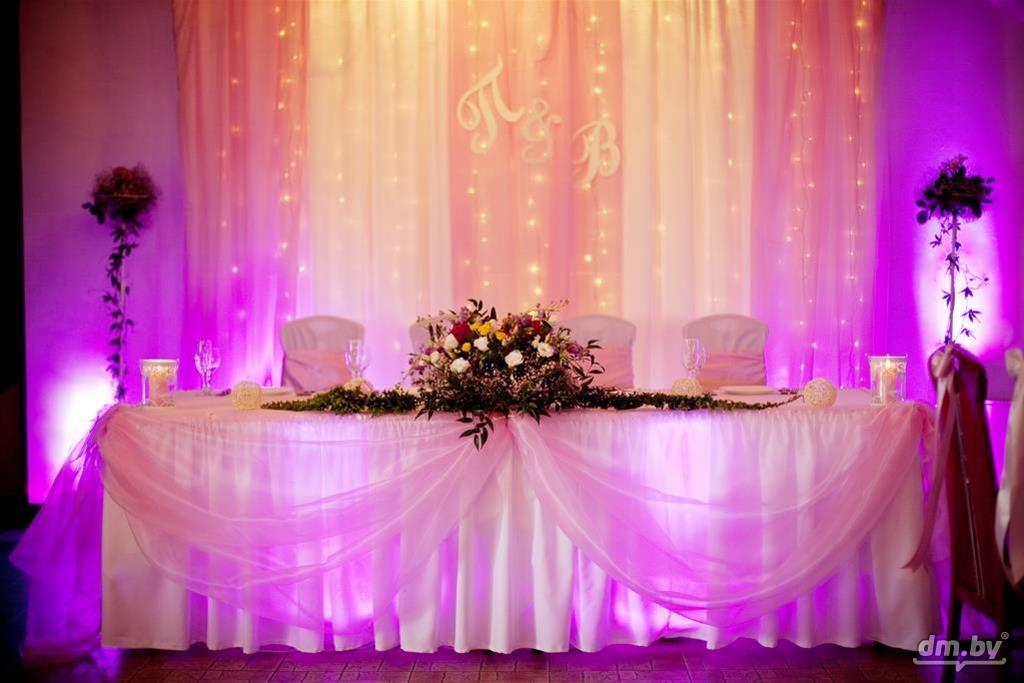 Прокат украшений для зала на свадьбу