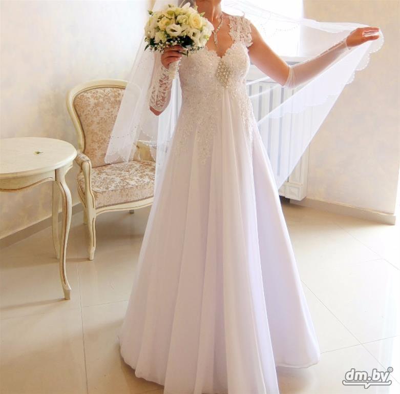 Свадебное платье в минске с